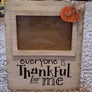 Fall picture frame new Kirkland's Thankful 🎃